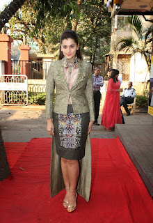 Actress Taapsee Pannu  Picture Gallery at DVAR Fashion Preview  8.jpg