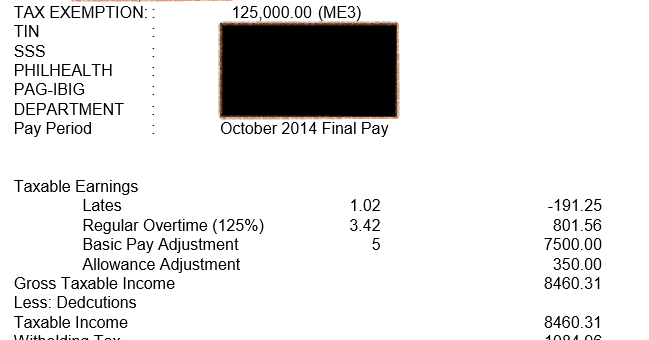 Receiving Back Pay From Employer Letter