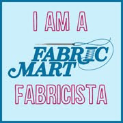 I blog for Fabric Mart!
