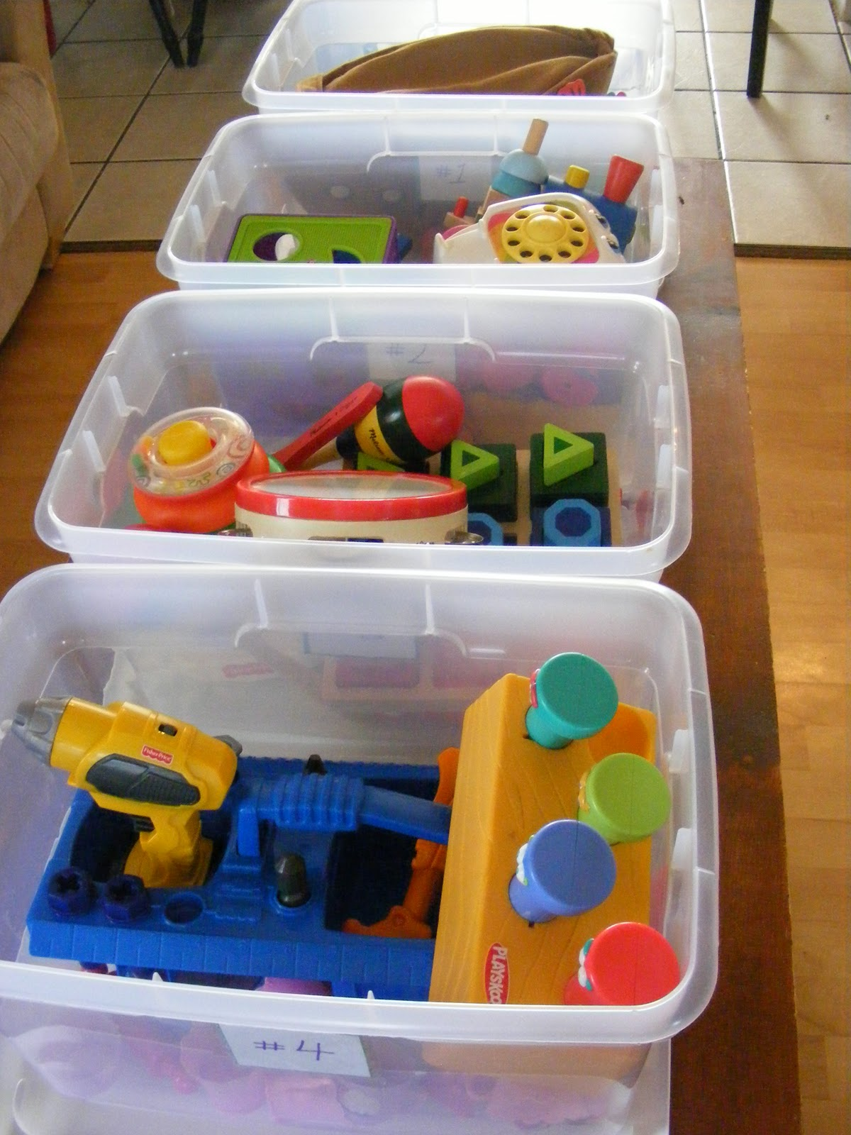 The plete Guide to Imperfect Homemaking Toy Rotation Bins