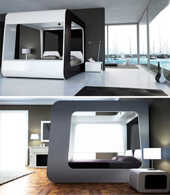 diseño cama ultra moderna
