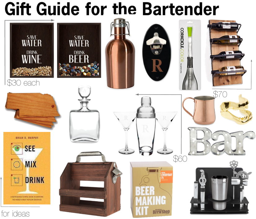 gift guide for the bartender