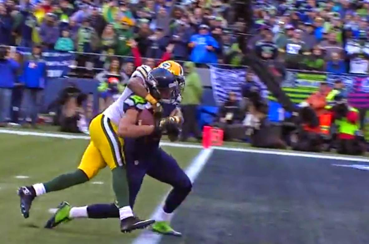Touchdown Seattle Green Bay road to Superbowl