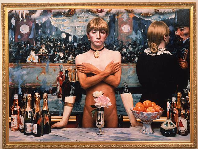 an analysis of the painting a bar at the folies bergre by edouard manet Manet's a bar at the folies-bergère graces the getty Édouard manet a bar at the folies-bergère  the more one reflects on manet's painting,.
