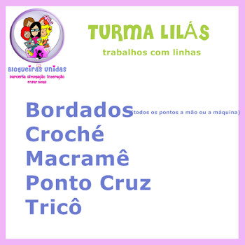TURMA LILÁS - Blogueiras Unidas