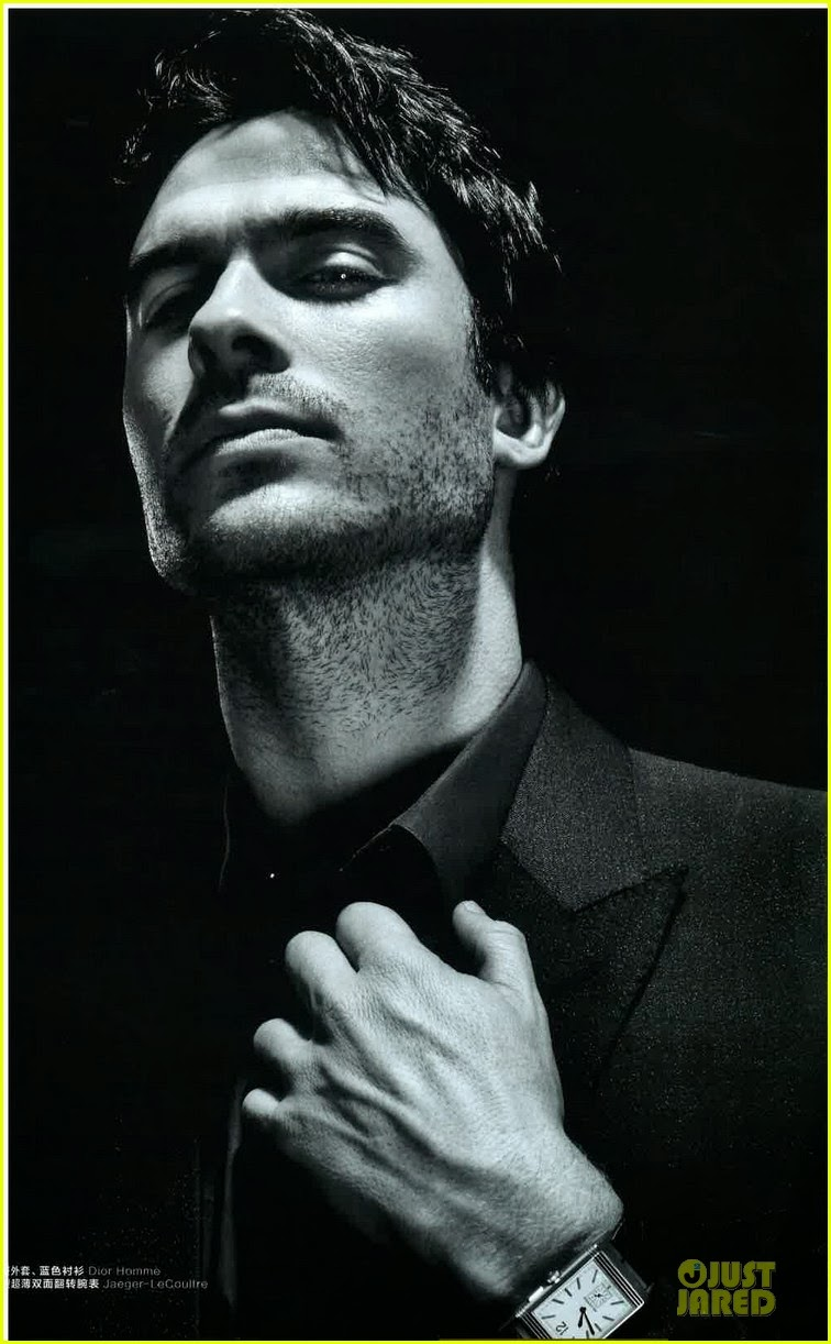 Celeb Diary: Ian Somerhalder on the cover of Esquire China ...