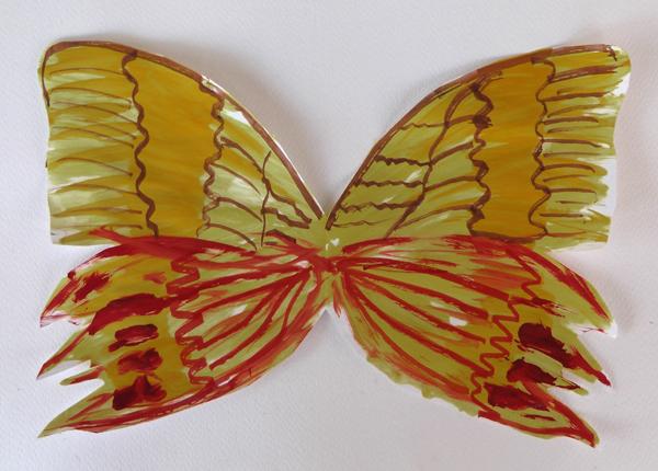πεταλούδα ζωγραφική, πεταλούδα φτερά,