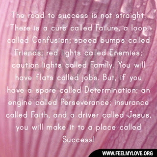 The road to success is not straight