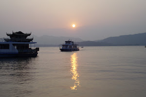 Sunset in West Lake, Hangzhou