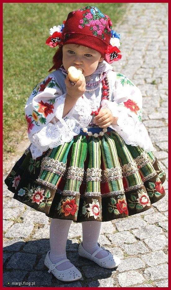 Lowicz Costume, Poland