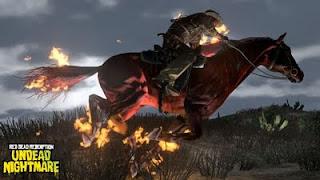 Guerre, monture de l'apocalypse dans Undead Nightmare du jeu Red Dead Redemption