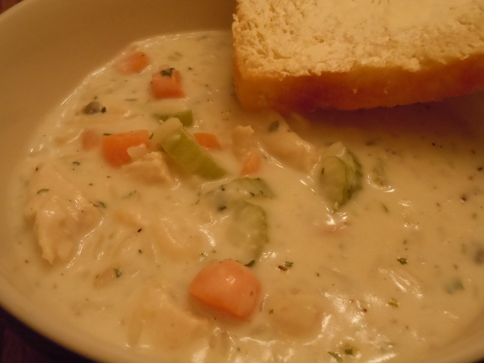 ALL THINGS DELICIOUS: Creamy Chicken Wild Rice Soup