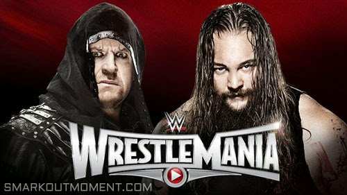 WWE WrestleMania 2015 ppv Undertaker vs Bray Wyatt