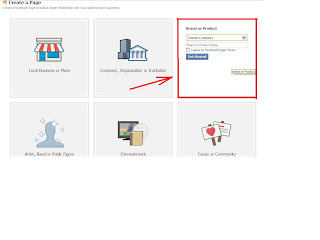 how to make facebook page for blog