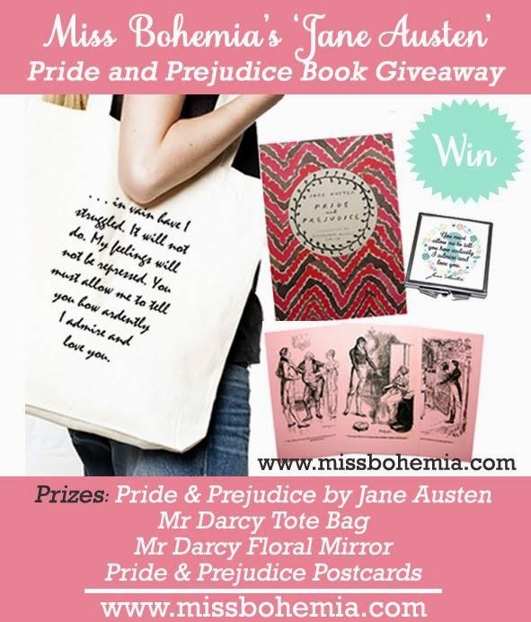 Jane Austen Giveaway
