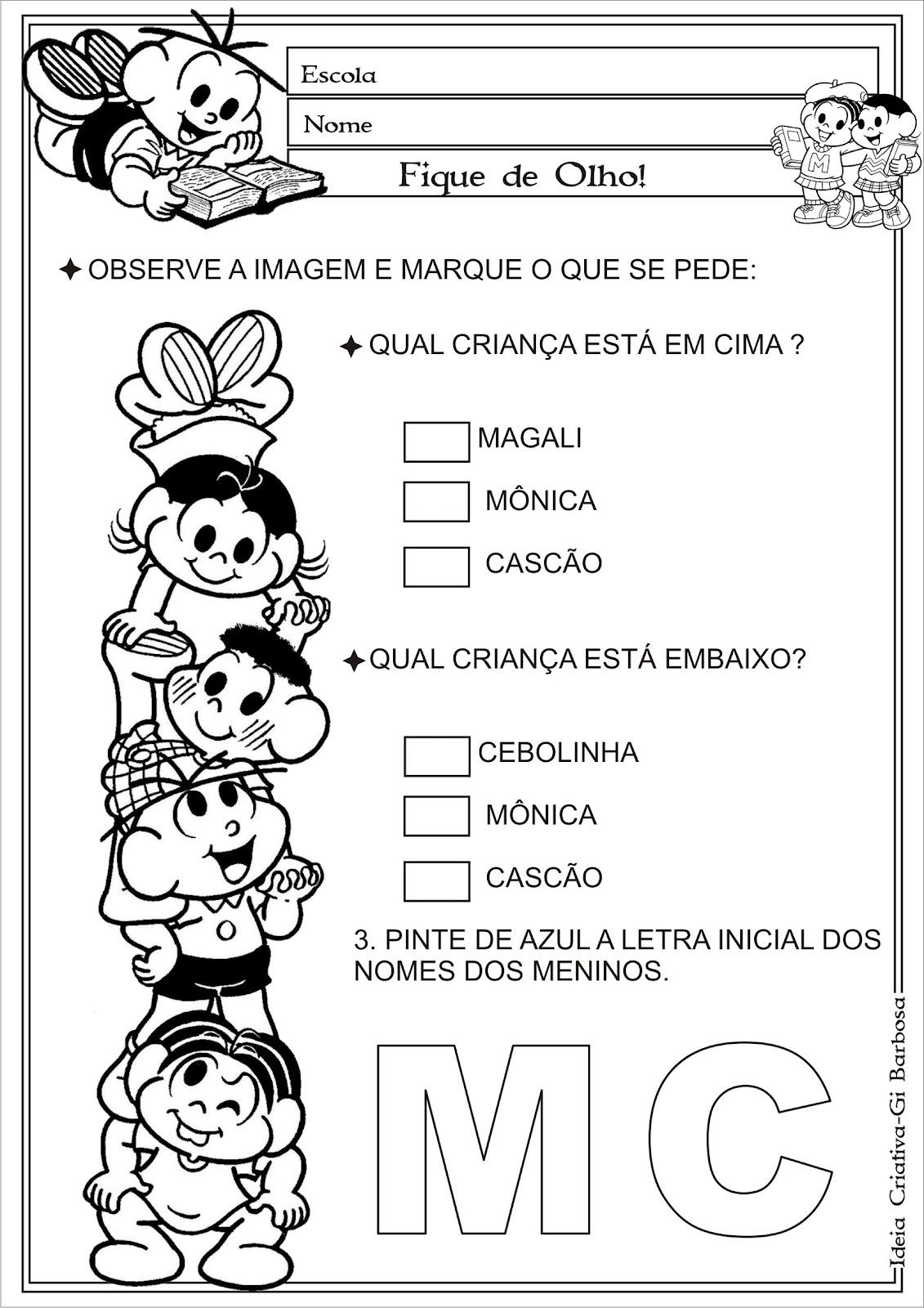 Preferência trocando idéias pedagógicas: SUGESTÕES VOLTA AS AULAS YO86