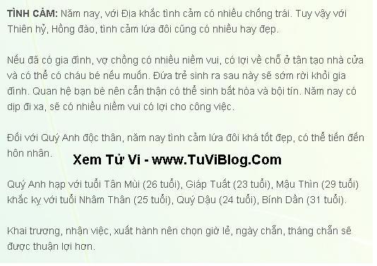 Xem TuVi Tan Mui 1991 Nam Mang