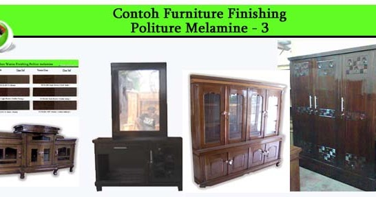 contoh furniture politur melamine 3 allia furniture