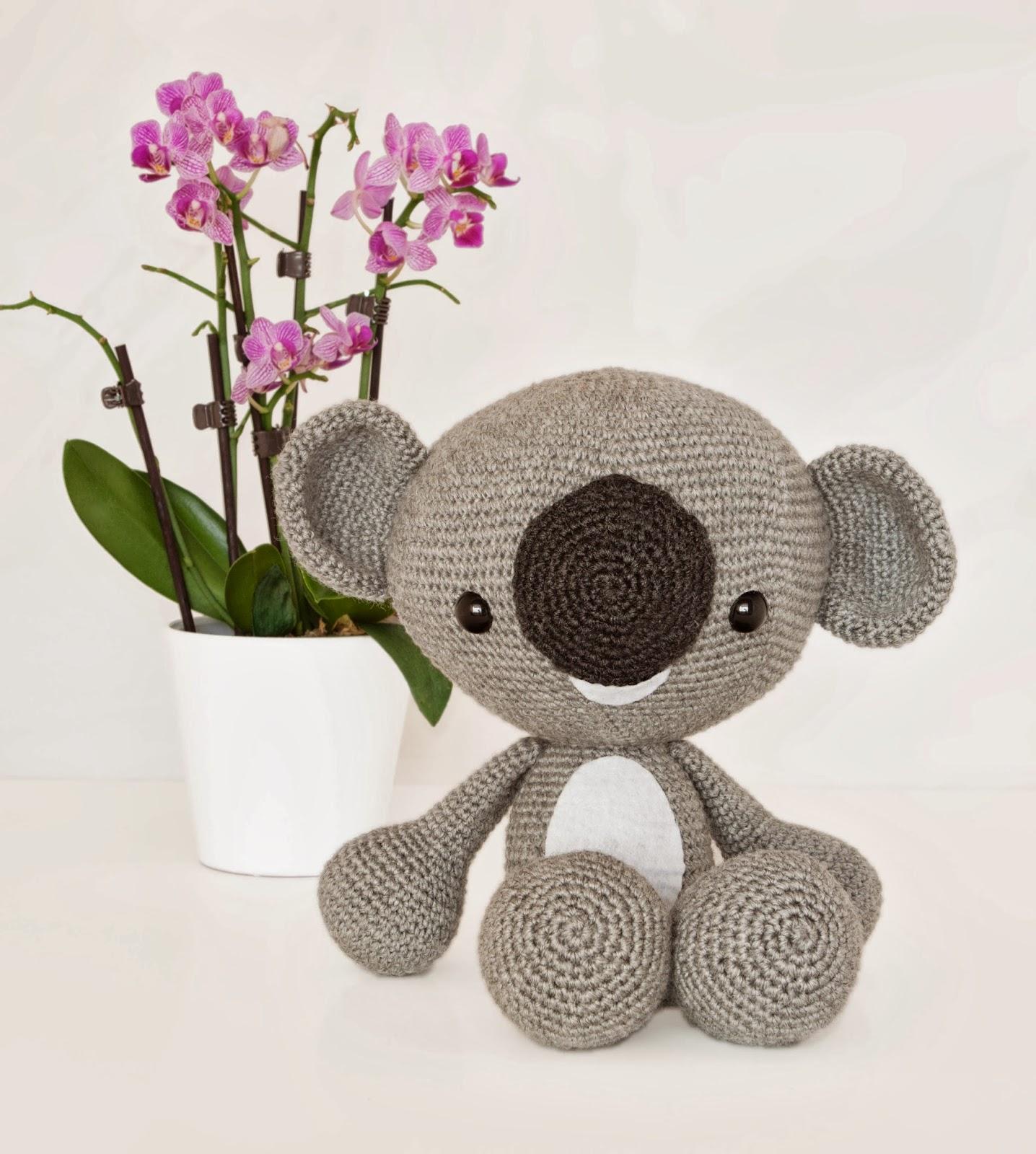 Patron Amigurumi De Koala : Patron De Oso Panda Amigurumi apexwallpapers.com