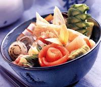 Japanese Menu Chirasi Sushi