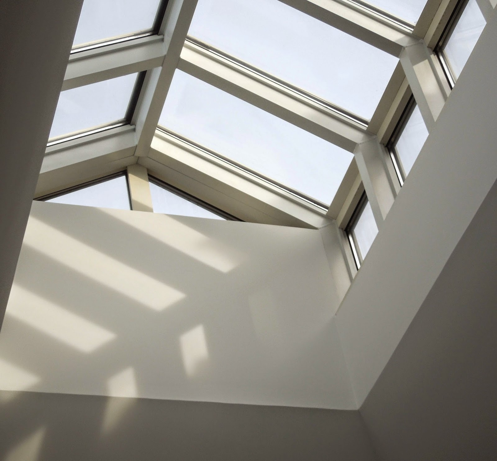 Tone on tone our home part 1 for Large skylight