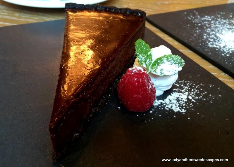The Gramercy's Tarte Chocolat