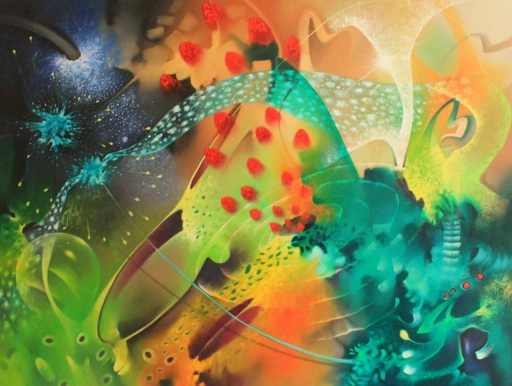 Cuadros pinturas oleos abstractos modernos pinturas for Fotos de cuadros abstractos al oleo