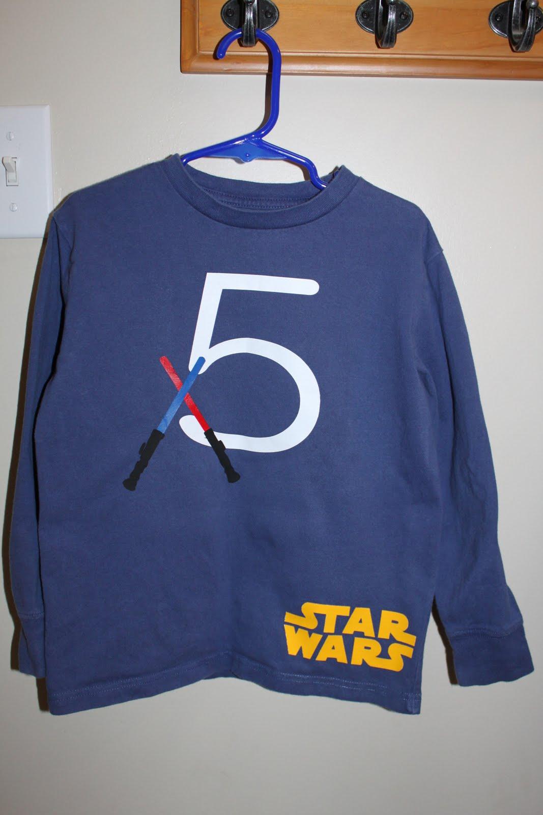 Star Wars Birthday Shirt