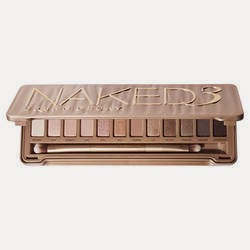Urban Decay, Naked 3, palette,  ombres à paupières, maquillage, eyeshadow, make-up, beauty, beauté,
