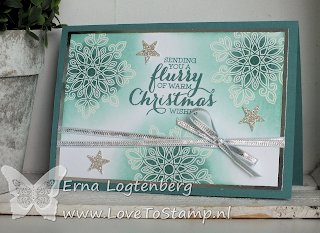 flurry of wishes lovetostamp stampinup stampin up