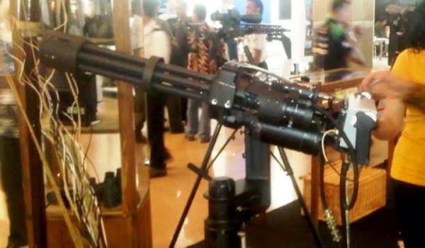 Eli Gun, Senapan Mesin Produksi PT Danan Armaments. PROKIMAL ONLINE Kotabumi Lampung Utara