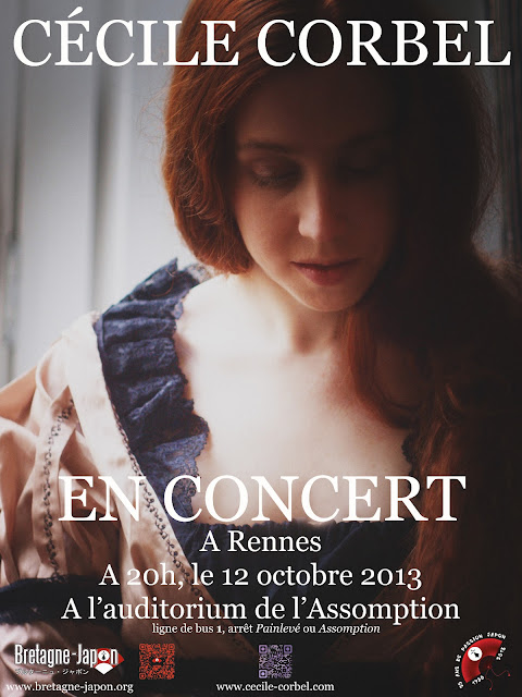 CÉCILE CORBEL en concert à Rennes