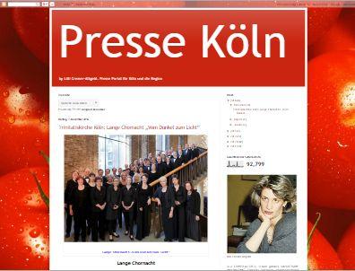 Presse Köln by Lilli Cremer-Altgeld