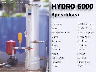 harga alat penjernih air hydro 6000