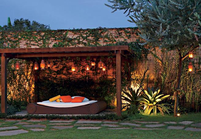 Iluminação Exterior  Jardins e Varandas