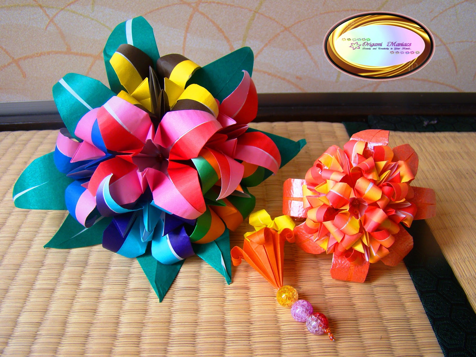 Origami Maniacs Bouquet Of Origami Lilies