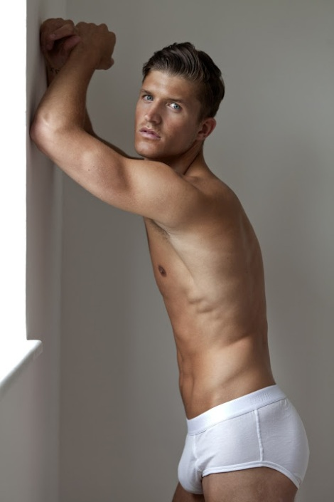 Jamie Clarke in underwear