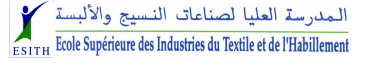 Cycles d'Ingénieurs à l'ESITH de Tanger 2014-2015