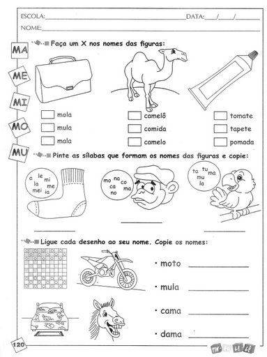 Categories Consoantes B C D F G J L E M