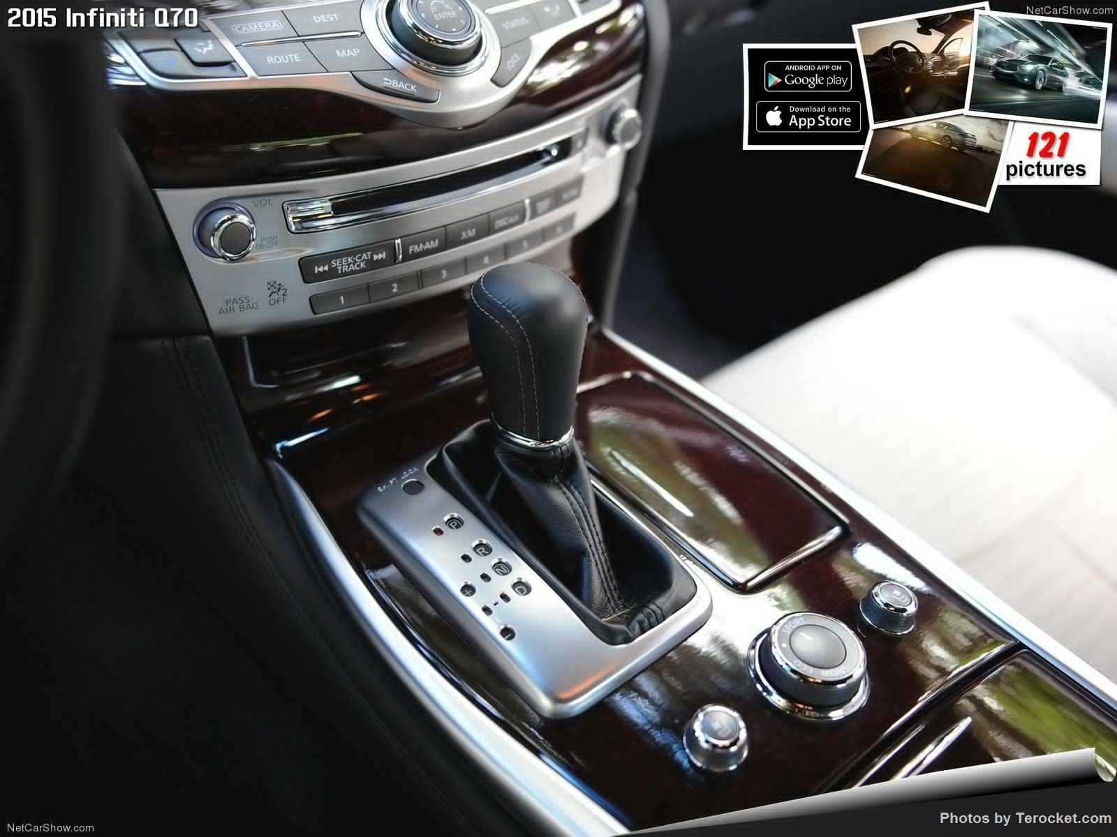 Hình ảnh xe ô tô Infiniti Q70 2015 & nội ngoại thất