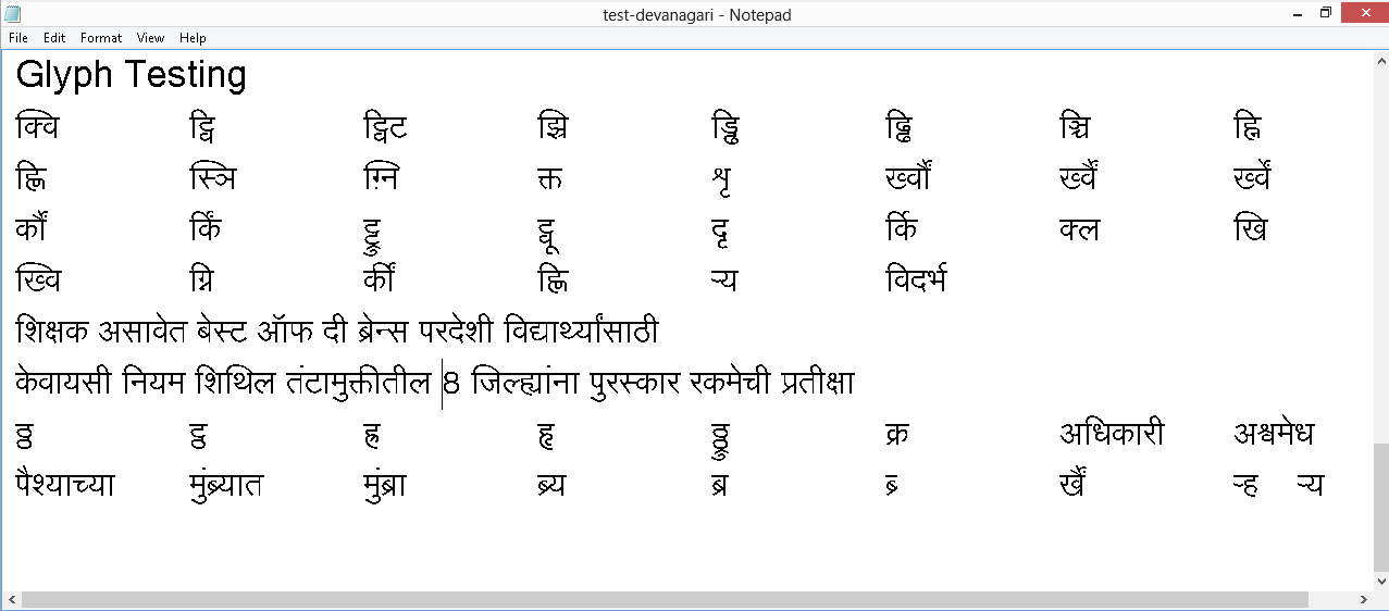 Download Free Unicode Fonts for Indian Languages