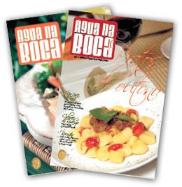 Receba gratuitamente a Revista Aguá na Boca!
