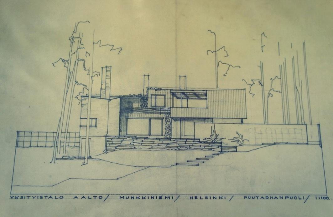 Historia de la arquitectura moderna alvar aalto casa for Historia de la arquitectura moderna