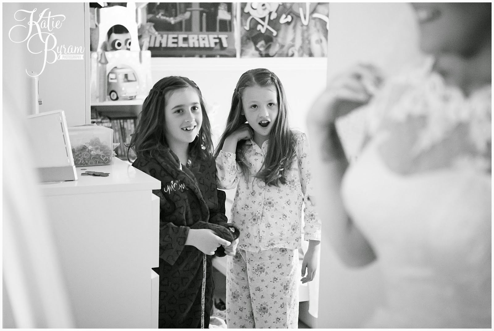 surprised flower girls, share the honest love, love my dress blog, katie byram photography