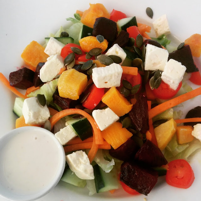 South African feta cheese salad
