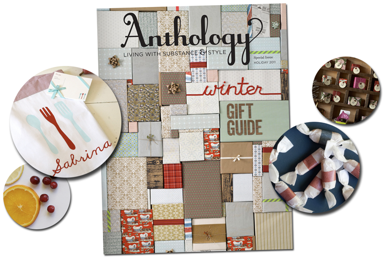 Anthology Magazine's Winter Gift Guide