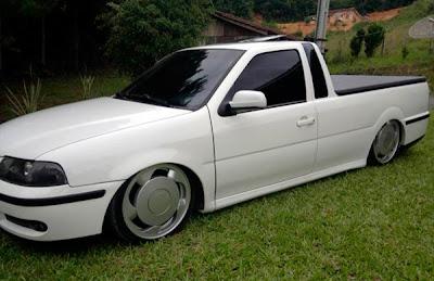 Saveiro G3 Turbo Rebaixada