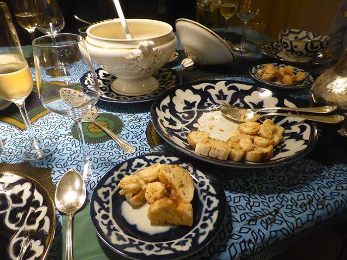 Bisque di gamberetti con poudre Roellinger