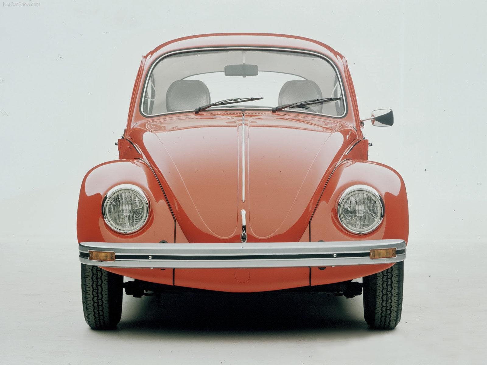 Classic Car Posters: Volkswagen Beetle