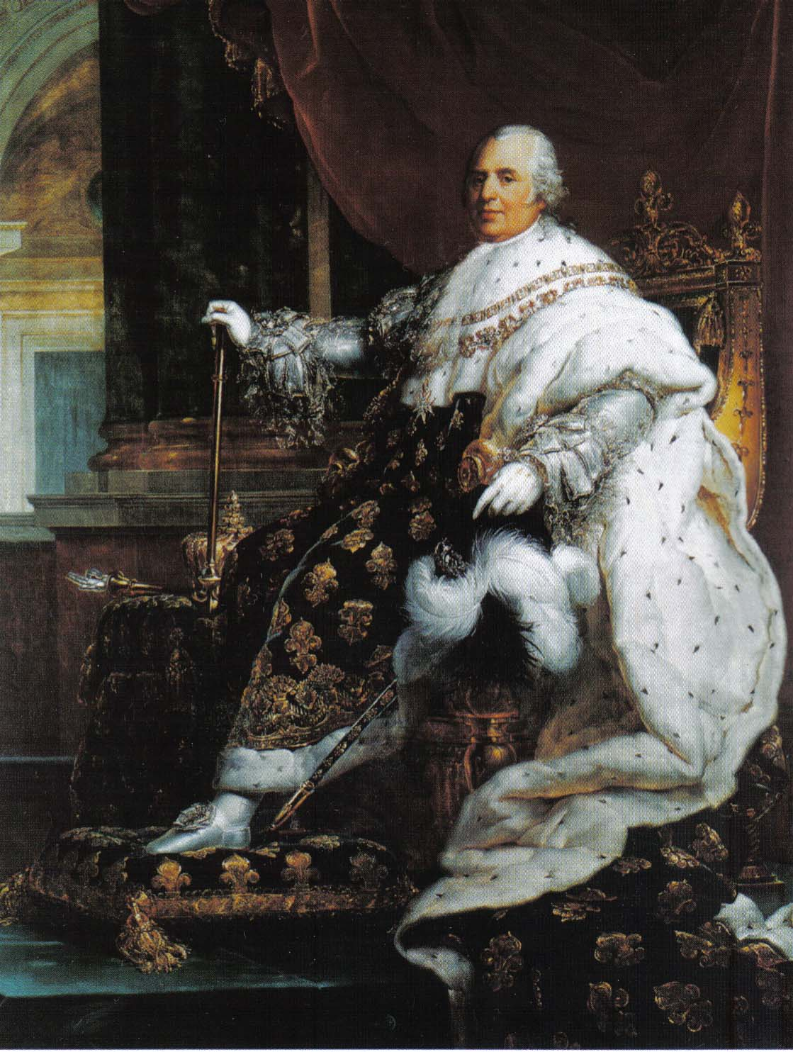 a history of the monarchy of louis xviii after napoleon bonaparte Louis xviii is best known as the (son of king louis xv), louis declared himself monarch after much of his napoleon ii the son of napoleon bonaparte.